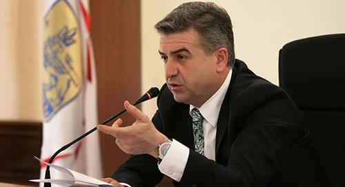 Arménie, programme politique, Karen Karapetyan
